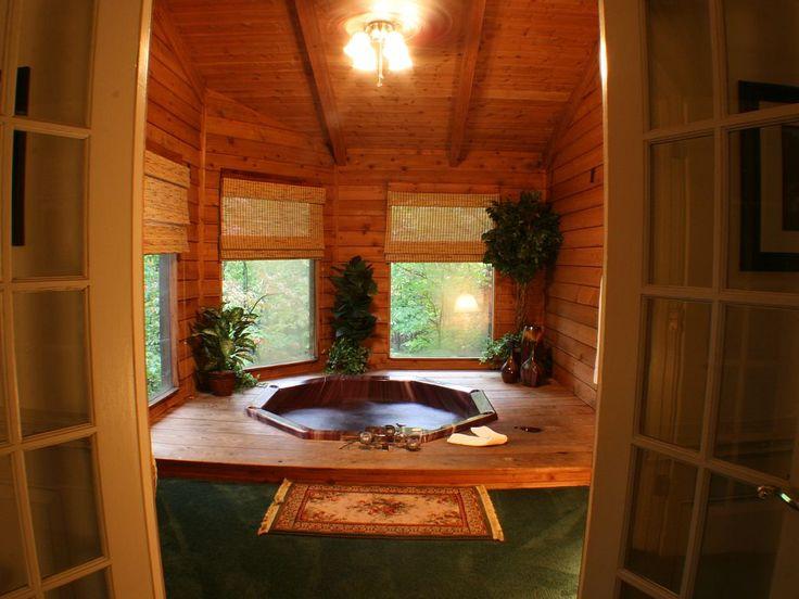 http://www.vrbo.com/707949   Honeymoon cabin, Indoor hot ...