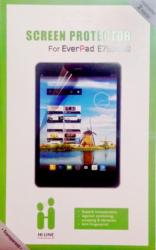 Vous avez besoin d 'un film de protection pour votre tablette E7914? Voici celui-là pour 15 dt seulement!