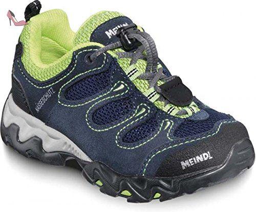 Meindl 2057-09, Bottes pour Garçon - vert - Bleu/menthe, 37 EU   4 Child UK - Chaussures meindl (*Partner-Link)