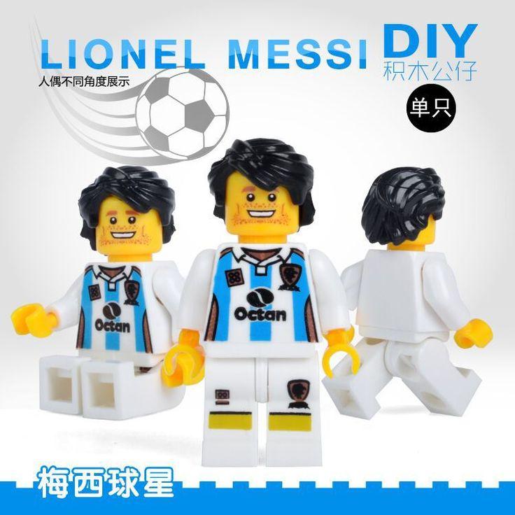 $0.74 (Buy here: https://alitems.com/g/1e8d114494ebda23ff8b16525dc3e8/?i=5&ulp=https%3A%2F%2Fwww.aliexpress.com%2Fitem%2FSingle-Sale-Football-Lionel-Messi-SUPER-HEROES-STAR-WARS-DIY-minifig-Action-Figures-Assemble-Building-Blocks%2F32798494960.html ) Single Sale Football Lionel Messi SUPER HEROES STAR WARS DIY minifig Action Figures Assemble Building Blocks Kids Xmas Toys Gift for just $0.74