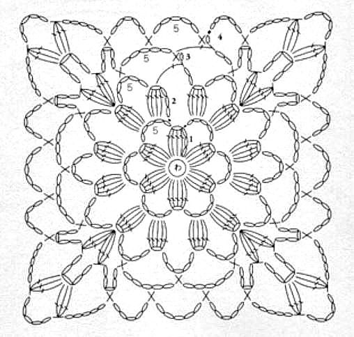 619 best Crochet flowers, motifs images on Pinterest