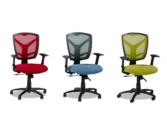 Monti Desk Chair 159 Plummers Swivel 4 Way Adjustable