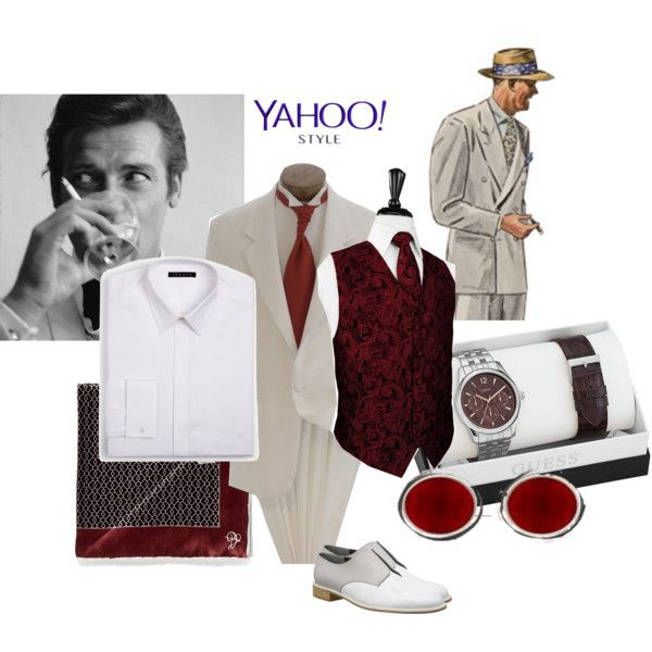 Channeling old Hollywood by maria-kuroshchepova on Polyvore featuring Robert Clergerie, GUESS, Theory, Canali, James Bond 007, contestentry and yahoostyle