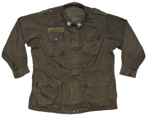 Italienische-Armee-Feldjacke-Feldbluse-Gr-48-50-Kult-Jacke-70-80er-Jagdjacke