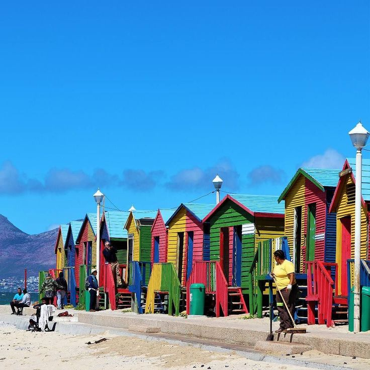 St. James #colorpop  @allcapetown @capetownisawesome @capetownmag @picturesouthafrica