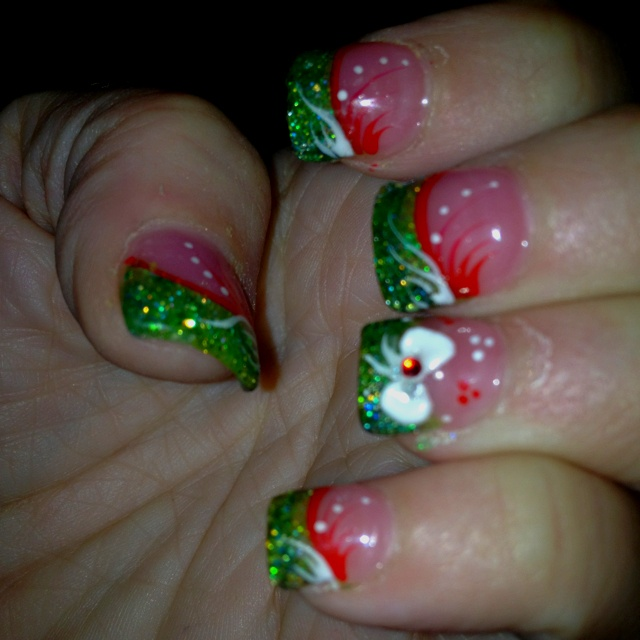 D Bow Designs For Nails