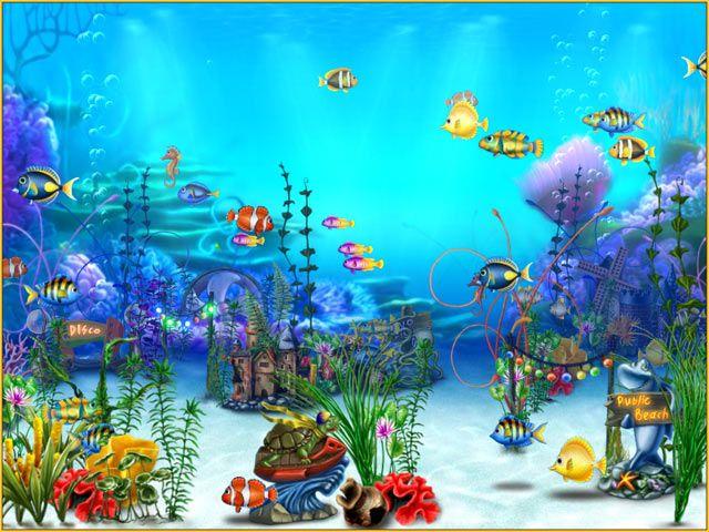 Free 3D Aquarium Screensaver | Exotic Aquarium 3D Screensaver