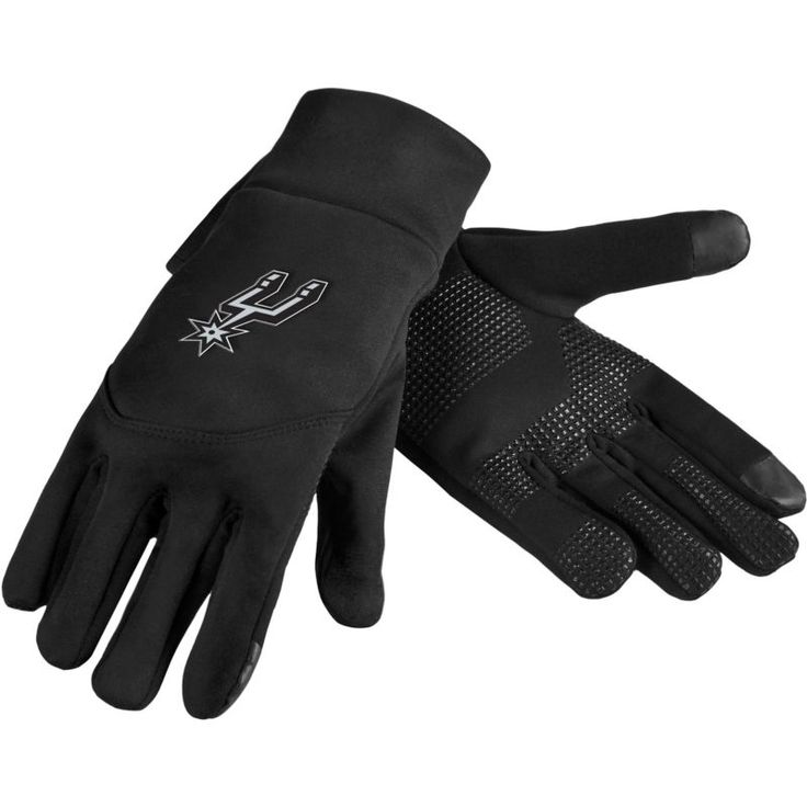Forever Collectibles San Antonio Spurs Texting Gloves, Team