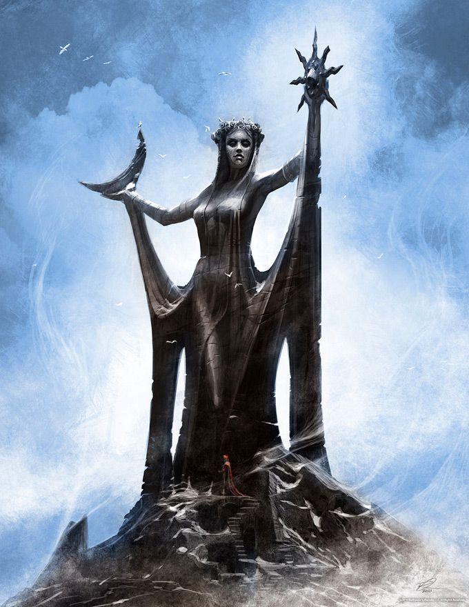 The Elder Scrolls V: Skyrim Concept Art by Ray Lederer