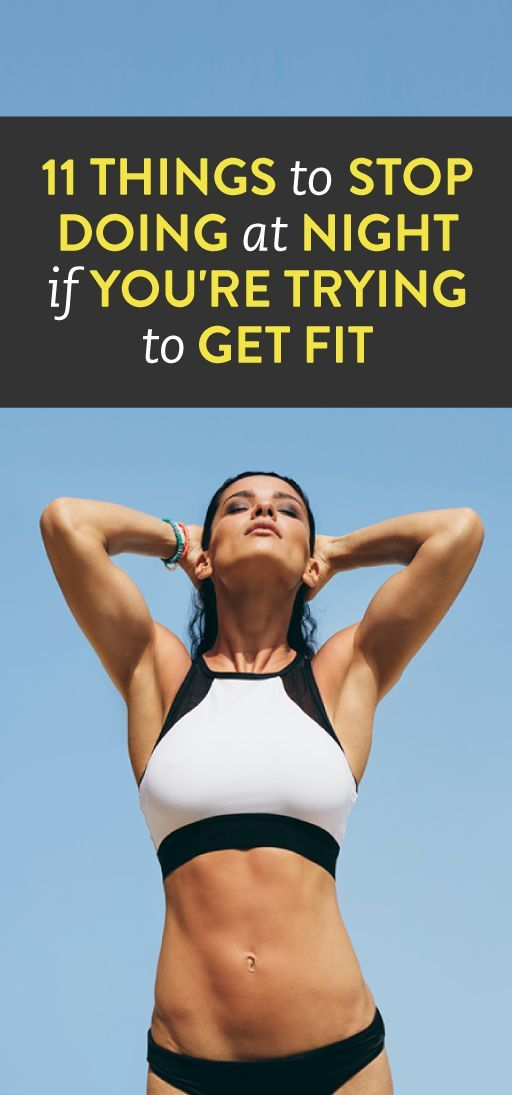 good habits for getting fit