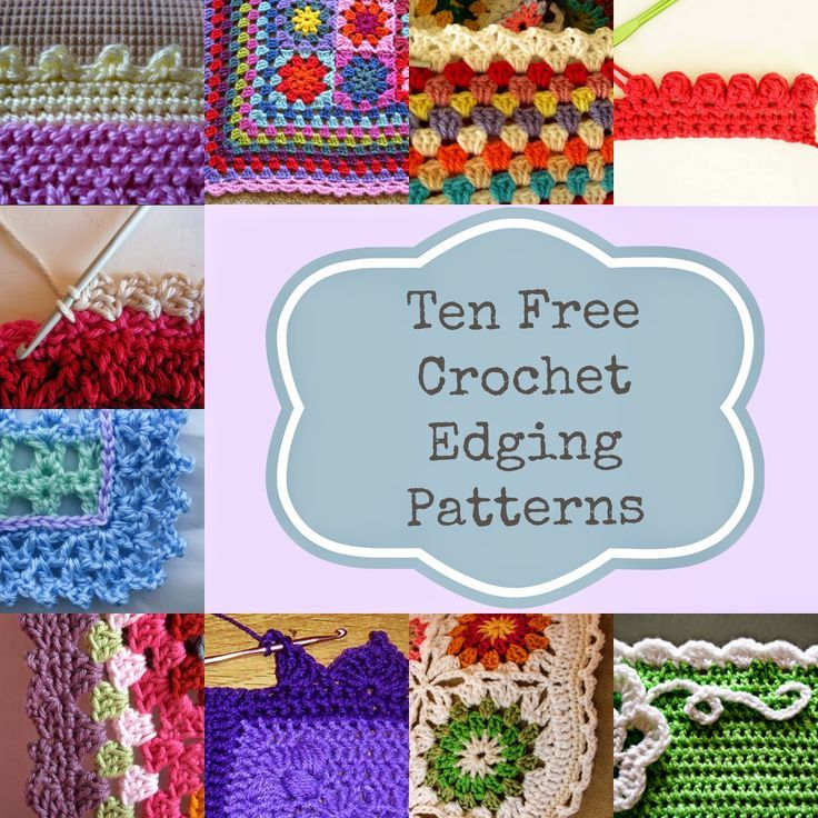 Crochet Patterns Edges : ... Crochet: 10 Ways To Get The Perfect Finish On Your Crochet Afghan