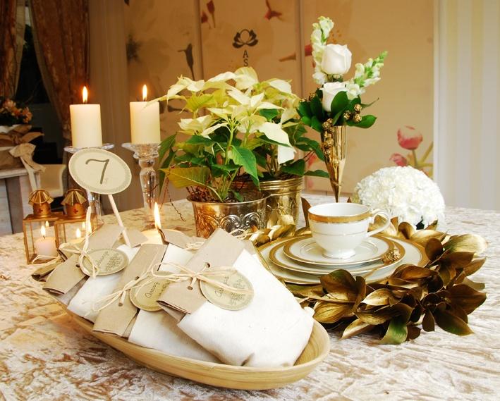 Mesa para Navidad.