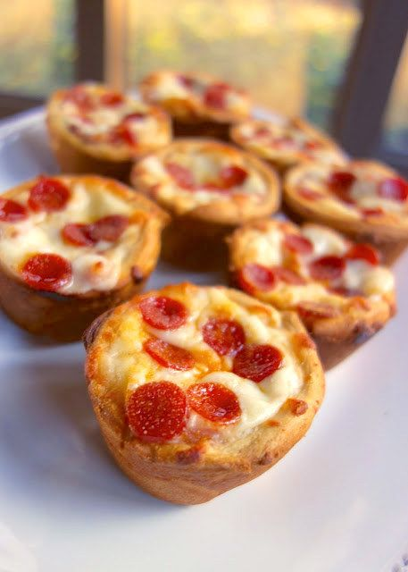 Deep Dish Pizza Cupcakes | 23 Indulgent Foods To Eat When You're Alone