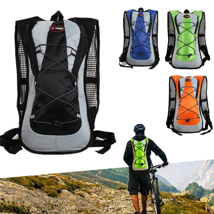Portable Climbing Cycling Bicycle Water Bag Backpack Road/Mountain Bike Sport Running Water Bladder Outdoor Hiking Equipment