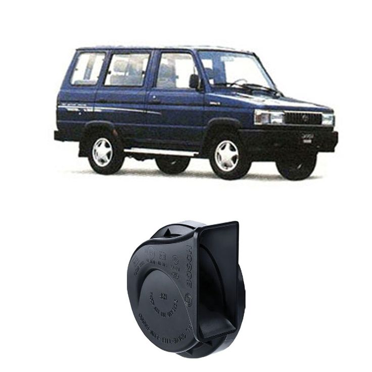 Bosch Klakson Mobil Toyota Kijang H3F Digital Fanfare (Keong) Black 12V - Set - Hitam (0986AH0601)  Dijamin 100% genuine Bosch, Tahan Cuaca, Suara Nyaring & keras  http://klikonderdil.com/klakson/600-bosch-klakson-mobil-toyota-kijang-h3f-digital-fanfare-keong-black-12v-set-hitam-0986ah0601.html  #bosch #klakson #jualklakson #toyotakijang