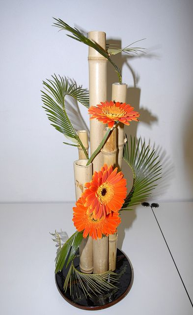 Floralies Sierroises,Château Mercier,ikebana (art floral japonais)   Flickr - Photo Sharing!