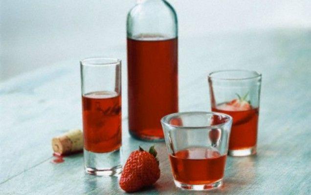 Λικέρ φράουλα - iCookGreek