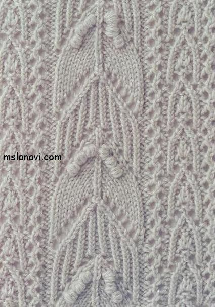 121 Best Handwork Knitting Stitches Nups And Bobbles Images On