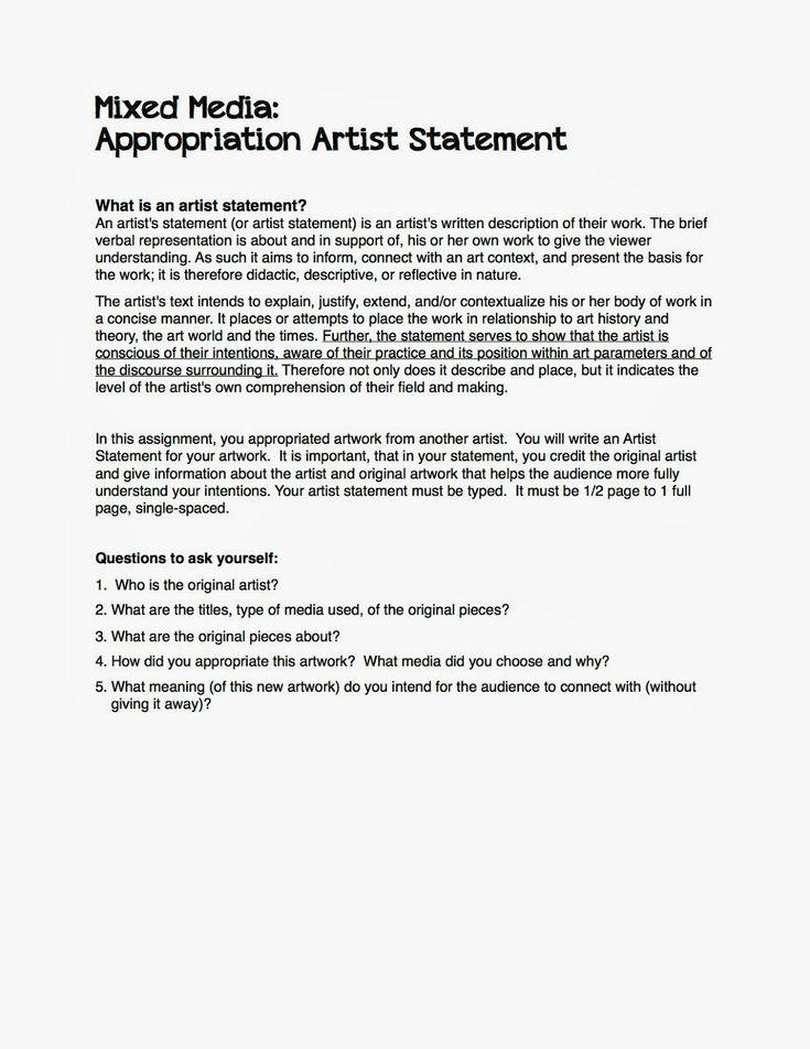 Mixed Media artist statement