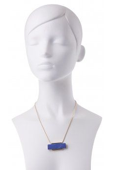 Rectangle Bars Pendant Necklace