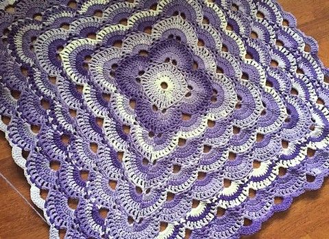 Quick And Easy Crochet Throw Patterns Free : 25+ best ideas about Easy crochet blanket on Pinterest ...
