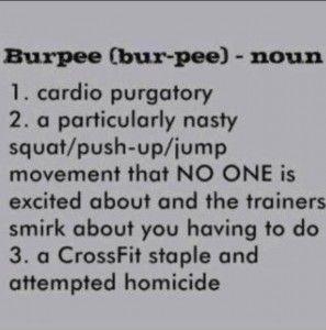 crossfit exercise burpee amrap wod