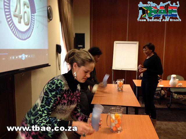 Nedbank Minute To Win It Team Building Muldersdrift