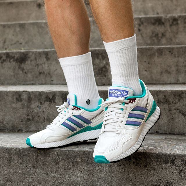 adidas Ultra Tech (Crystal White / Real Lilac / Core Black) | latest ...