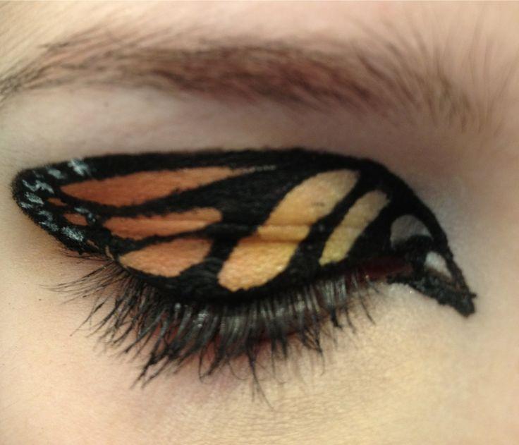 #Vlinder oogmake-up