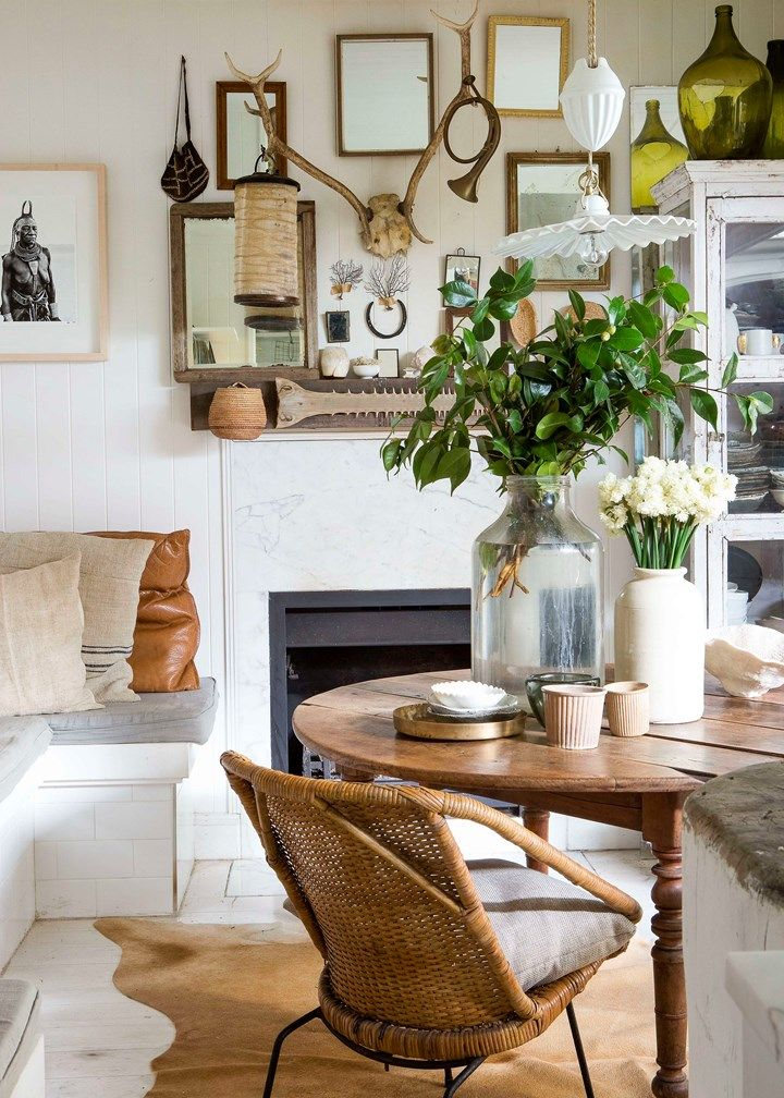 "Kara Rosenlund's Style Secrets | ""My mantelpiece feels sentimental to me, as it's home to all sorts of items and little treasures."""