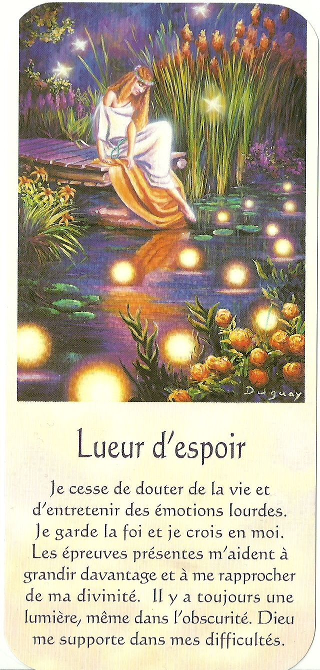 Mario Duguay- Message Lumière Lueur d'espoir