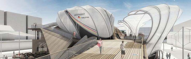 Pavillon Allemand - Germania- expo 2015 Milan