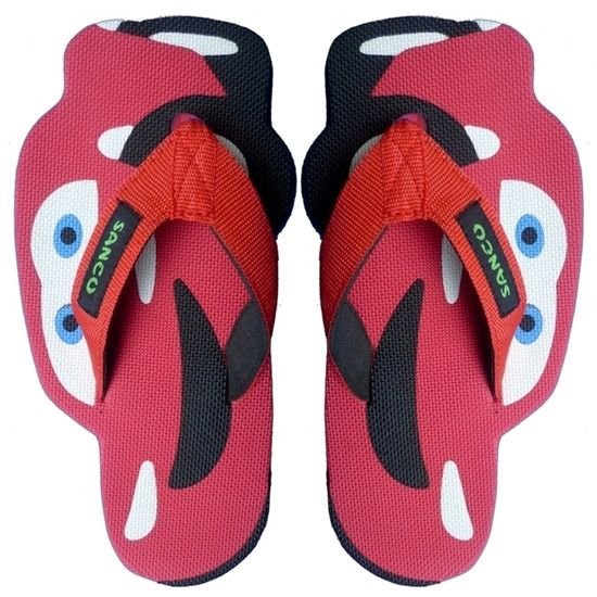 Sandal Sancu Cars Red