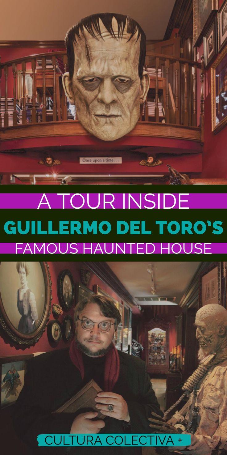 Guillermo del Toro's Bleak house haunted. Halloween