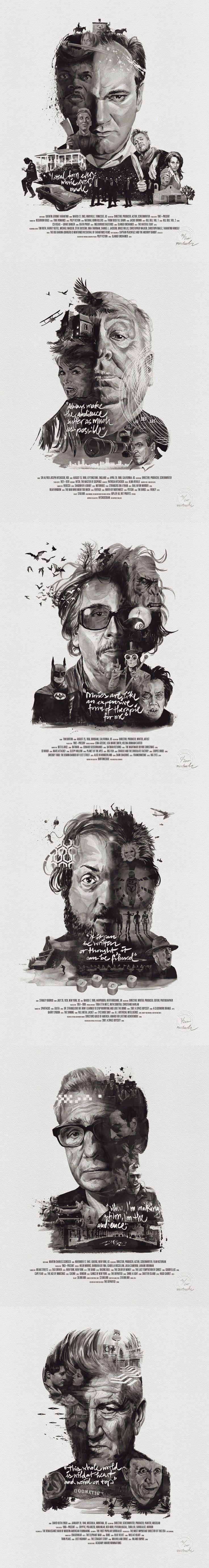 Movie Director Portraits by Stellavie & Julian Rentzsch