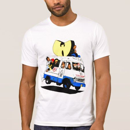 ICE CREAM TRUCK WUTANG Crew Neck T-Shirt - click/tap to personalize and buy