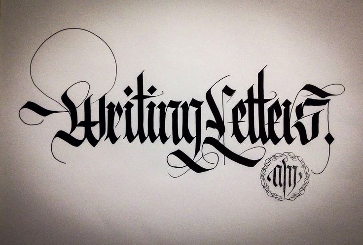 art calligraphy had calligraphy blackletter gothic calligraphy learn ...