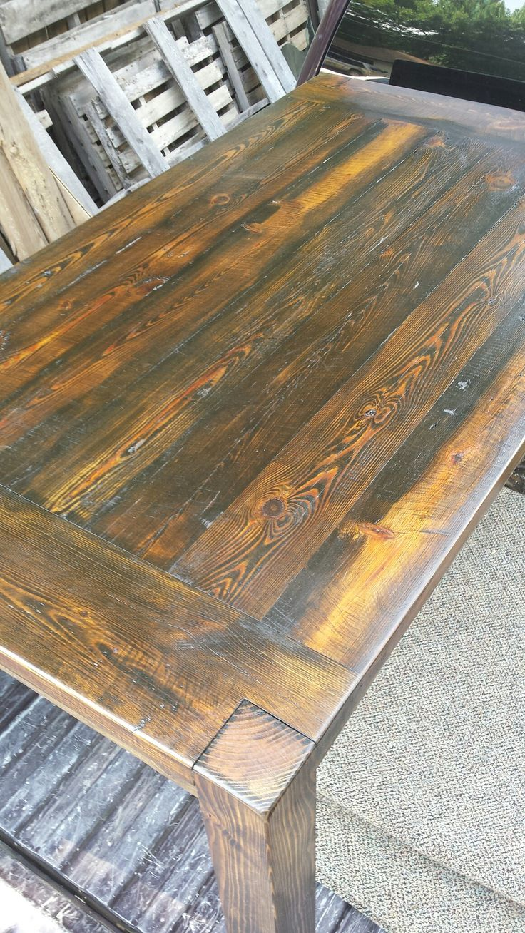 Barnwood Kitchen Table 17 Best Ideas About Barnwood Dining Table On Pinterest Farm