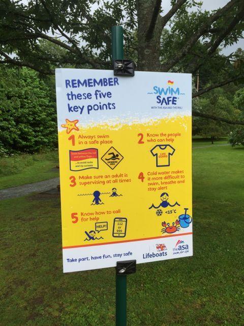 Lakes Single Mum: #CountryKids Swim Safe at Brockhole