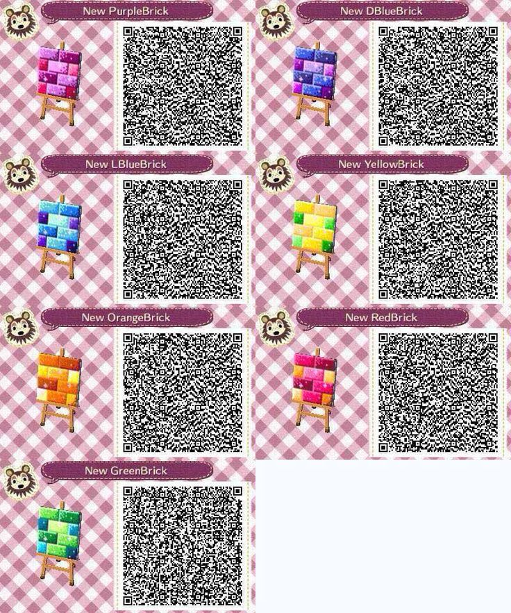 Rainbow Bricks Animal Crossing Animal Crossing Qr