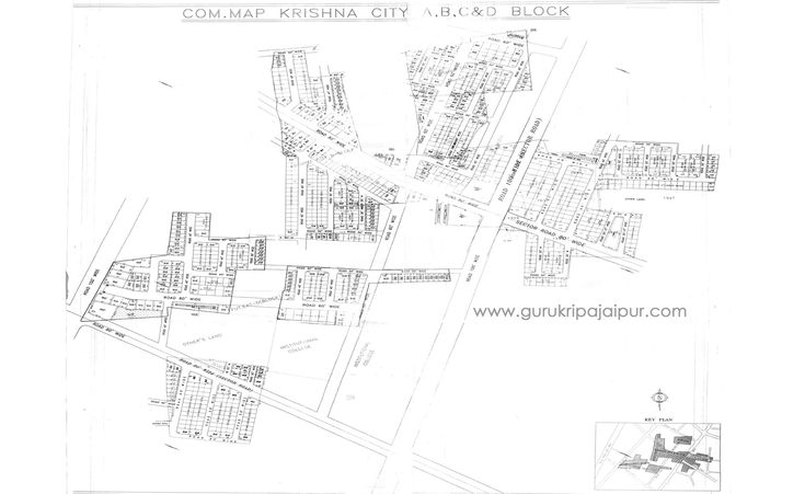 Krishna City 200 sq yds Plot for Sale Madrampura Saipura Diggi Road Jaipur