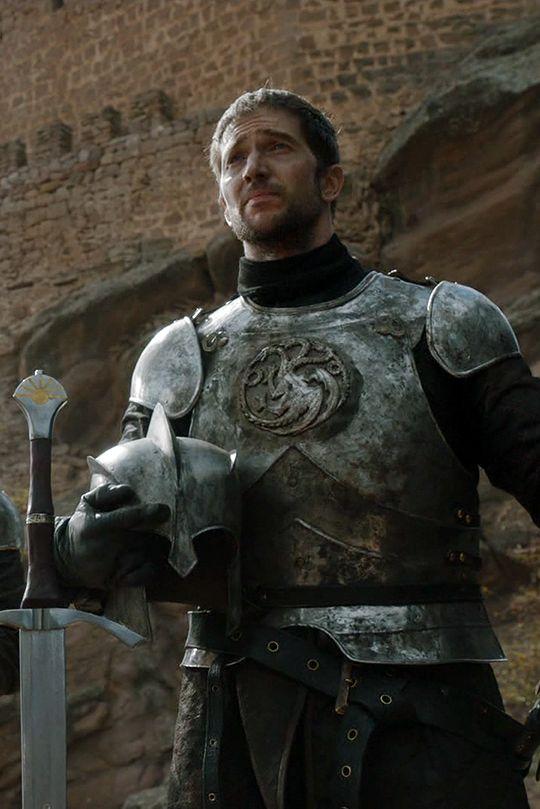 """Ser Arthur Dayn, das """"Schwert des Morgens"""" bewacht im Auftrag von Rhaegar Targaryen den Turm der Freude in den Roten Bergen."""