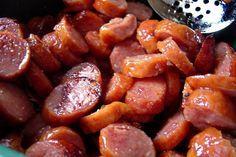 Linda's Brown Sugar Glazed Kielbasa Appetizer Bites