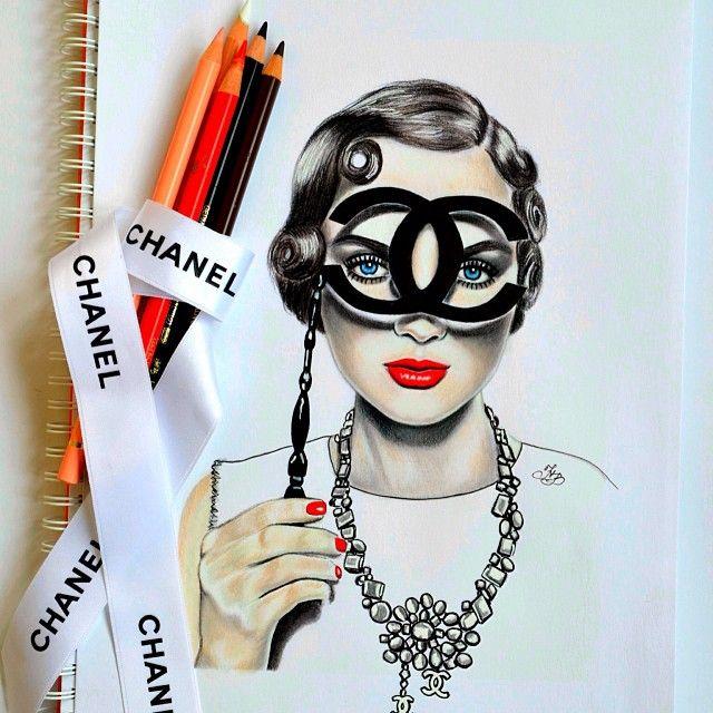 Collection of Chanel pictures✏️ - @Natalia Vasilyeva- #webstagram