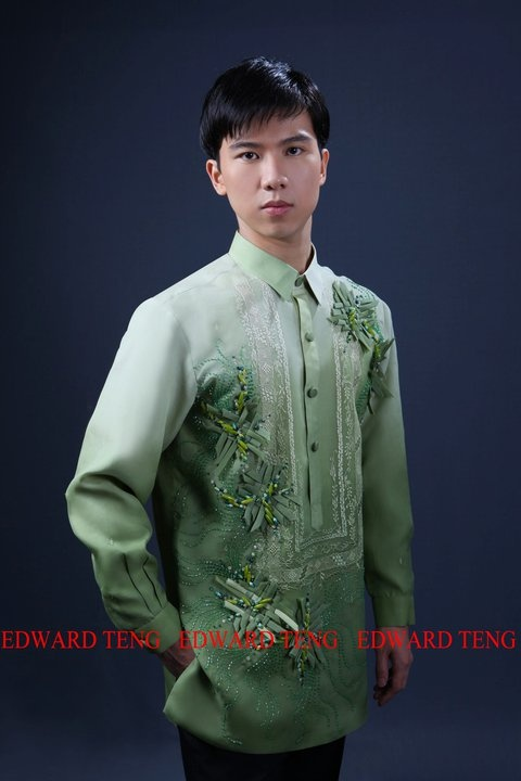 Philippine Wedding Trends: Barong Tagalog in Colorful Hues