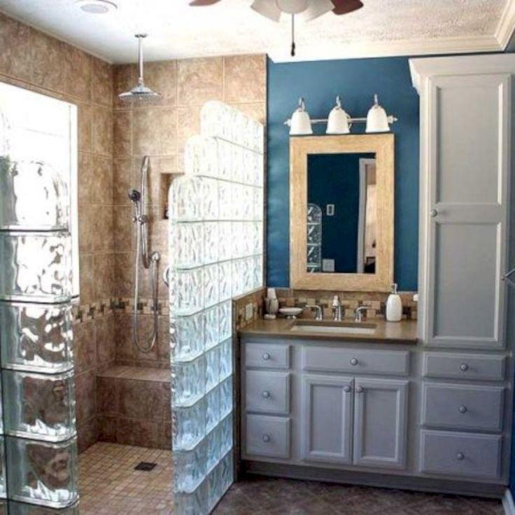 22 Best Glass Block Shower Images On Pinterest