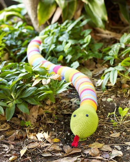 Moda Vera Cupcake Crochet Snake - Project - The ...