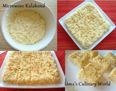 Microwave Kalakand Recipe With Ricotta Cheese