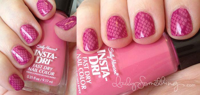 Pink Snake Skin NailsBeautify Nails, Nails Stamps, Snakes Skin, Nails Art, Skin Nails, Cute Nails, Pink Snakeskin, Hair Nails, Snakeskin Manicures