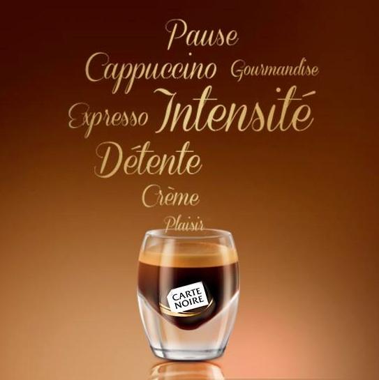 Le café Carte Noire vous inspire...